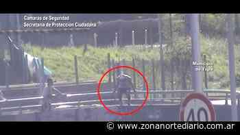 Las cámaras del COT evitaron un intento de suicidio en Ricardo Rojas - Zona Norte Diario Online