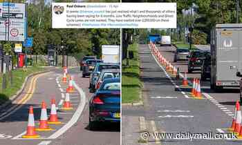 London council set to become first to scrap green roads as review found they increased traffic jams