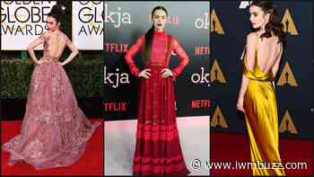 Lily Collins And Her Most Memorable Looks From Red Carpet Of All Times, Check It Here - IWMBuzz