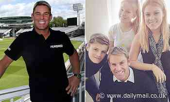 Shane Warne opens up about raising his kids as a single parent and why he doesn't go out anymore