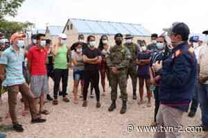 Defensor del Pueblo realiza gira por albergues de migrantes en Gualaca - TVN Noticias