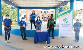 En Ariguaní regalan tapabocas y brindan información para la prevención del covid - Opinion Caribe
