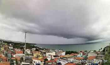 Avanço de chuva em Madre de Deus/BA, veja o vídeo exclusivo - Clima ao Vivo