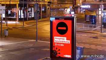 Kritik an Ausgangssperre: Landkreise für Überarbeitung der Notbremse
