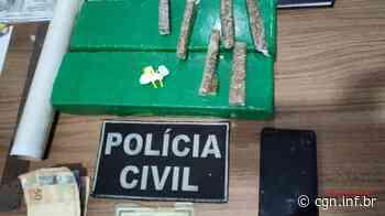 DENARC prende duas pessoas por tráfico em Santa Terezinha de Itaipu - CGN