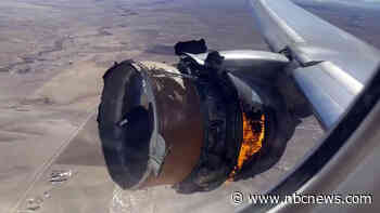 Two passengers sue United Airlines over engine explosion