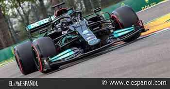 Hamilton, pole en Imola y Mercedes ya nota la presión; Fernando Alonso y Sainz, fuera de la Q3 - El Español