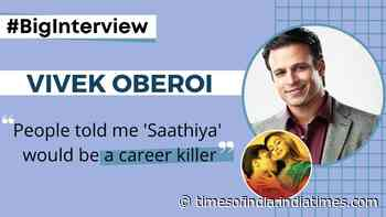 #BigInterview! Vivek Oberoi: When I decided to do 'Saathiya', people told me it would be a career killer and that I was crazy