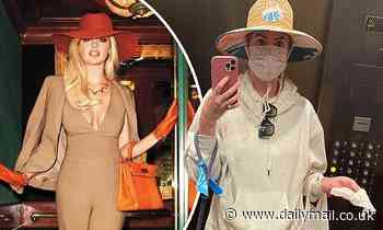Kate Upton compares ultra glamorous elevator shoot with her day-to-day look - Daily Mail