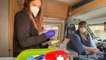 È ripartito il camper di Vigonza Medica per vaccinare gli anziani - Il Mattino di Padova