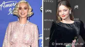 Patchwork-Traum: Katy Perry chattet mit Orlandos Ex Miranda - Promiflash.de