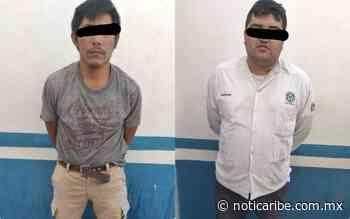 Capturan ciudadanos a dos presuntos extorsionadores en Playa del Carmen; uno es taxista - Noticaribe