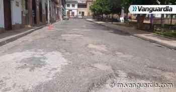 Arreglarán vía principal en el parque 'La Chiquinquirá' - Vanguardia