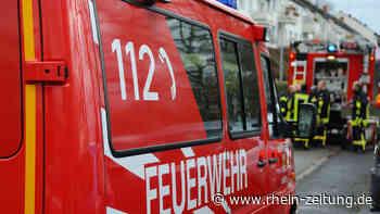 Ferienhaus über Lahnstein brennt völlig aus – Polizei sucht Zeugen - Rhein-Zeitung