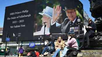 Noch nicht für die Royals: Nationale Trauerzeit für Prinz Philip beendet