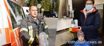 Vollsperrung und Baby an Bord: Feuerwehr-Ehepaar aus Asbach hilft - Osthessen News
