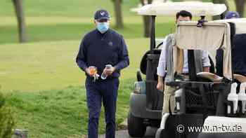 Golfpartie in der Heimatstadt: Präsident Biden schwingt erstmals das Eisen