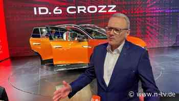 E-Automarkt soll kräftig wachsen: VW setzt zur Aufholjagd in China an