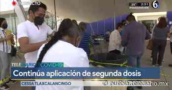 Con éxito la segunda vacunación anticovid en Tlaxcalancingo - Telediario Puebla