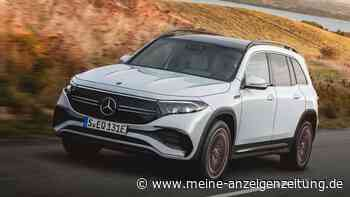 Mercedes EQB: Die Reichweite geht in Ordnung – beim Laden sind einige Konkurrenten schneller