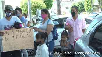 """Compraron de buena fe los terrenos hace 10 años, ahora la """"justicia"""" los quiere desalojar - La Izquierda Diario"""