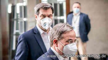 Showdown um Kanzler-Kandidatur: Söder und Laschet lassen Einigung platzen - doch Unions-Lager machen sich bereit