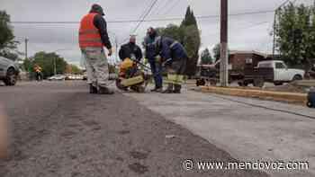 Construyen mesetas reductoras de velocidad en Junín - Mendovoz