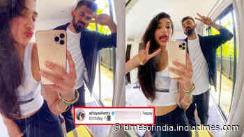 Has Athiya Shetty just made her relationship with KL Rahul Insta official with this post?