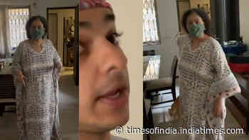 Ishaan Khatter's hilarious 'Instagram Vs Reality' video featuring mommy Neliima Azeem calling him an 'idiot'