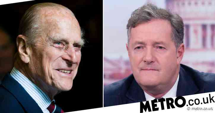 Piers Morgan reveals Prince Philip's cutting remark aimed at Britain's Got Talent judges