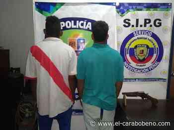"""Policía de Guacara arrestó a dos integrantes de la banda """"Kikibaba"""" - El Carabobeño"""