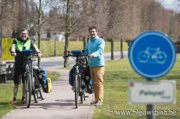 """Alkenaar is meetfietser: """"40.000 kilometer veilige fietspaden is ons doel"""" Een meetfiets is meer dan alleen een opvallende fiets met een derde wiel"""