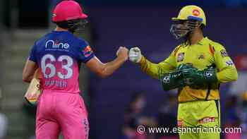 Search for consistency continues as flawed CSK and Rajasthan Royals face off