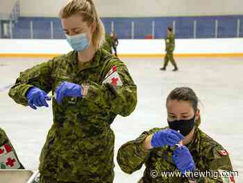 Garrison Petawawa opens its first clinic to administer COVID-19 vaccinations - The Kingston Whig-Standard