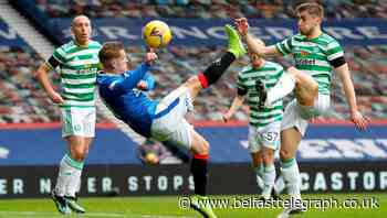 Watch: Northern Ireland captain Davis gives Rangers lead in Old Firm derby with acrobatic finish