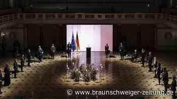 Gedenkveranstaltung in Berlin: Trauer um fast 80.000 Corona-Tote