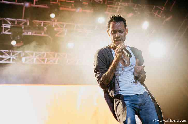 Marc Anthony's 'Una Noche' Livestream Concert to Be Rescheduled After Technical Difficulties