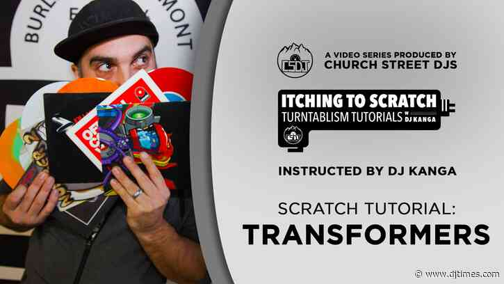 Itching To Scratch Tutorial: Transformers