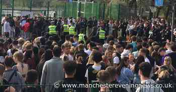 LIVE updates: Police and crowds at Platt Fields Park over 'live gig by rapper'