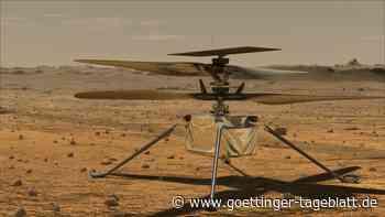 """Mars-Flug von Helikopter """"Ingenuity"""": Neuer Startversuch geplant"""