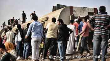 Wieder schweres Zugunglück in Ägypten: Mindestens neun Tote und 100 Verletzte