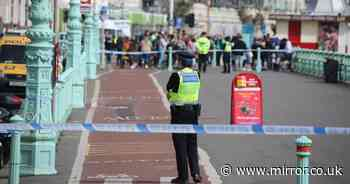 Brighton beach evacuated by police after 'unexploded mortar shell' discovered