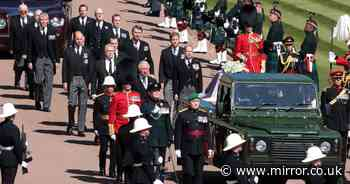 Soldiers 'tossed coin' to decide who would drive Philip's Land Rover at funeral