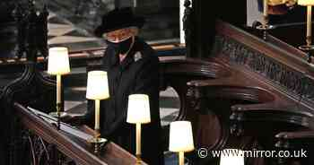Queen's five touching private tributes to husband Prince Philip at his funeral