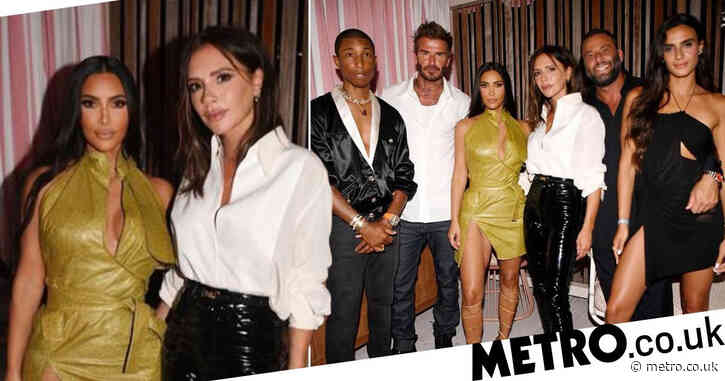 Victoria Beckham celebrates dream 47th birthday with Kim Kardashian and husband David in Miami