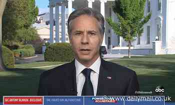 'No military resolution to the conflict' Blinken defends Biden's pulling troops from Afghanistan