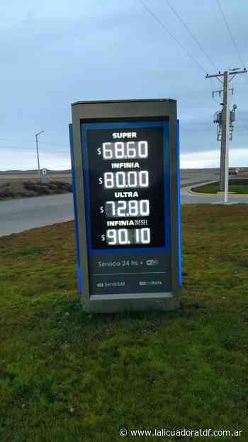 Combustibles: En Rio Grande aumento 0 en Ushuaia 1,13 % - La Licuadora - La Licuadora
