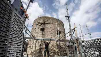 Mauer des Eppsteiner Bergfrieds muss saniert werden - Frankfurter Rundschau