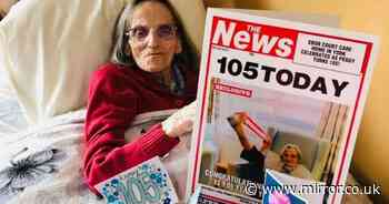 Woman, 105, says 'cheeky' sherry and daily cod liver oil is secret to long life