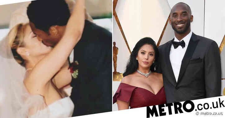 Vanessa Bryant remembers wedding day with Kobe as she marks their 20th anniversary: 'Love you forever'